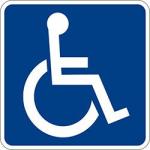 Handicap Access Sign
